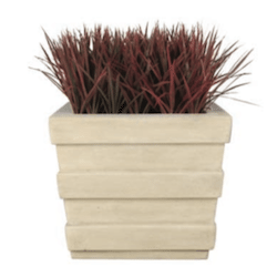 Plantation Square Fiberglass Planter