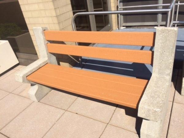 Orlando Concrete Bench