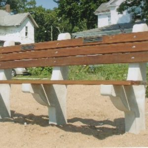 Bronx River Commercial Benches