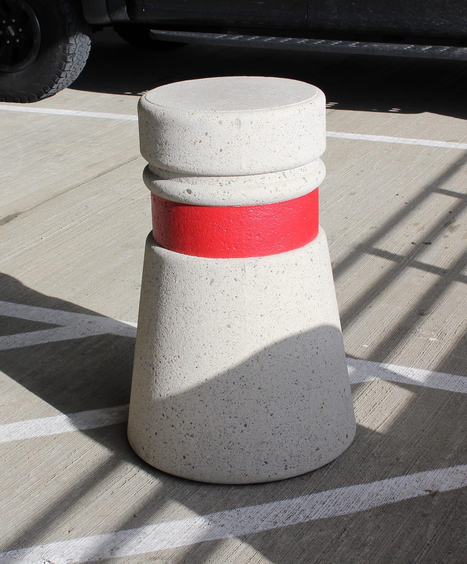 36 Quot Tall Freestanding Concrete Bollard Site Furnishings