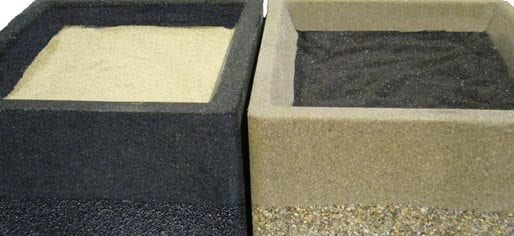 Filler Sand For Ashtrays And Combination Units