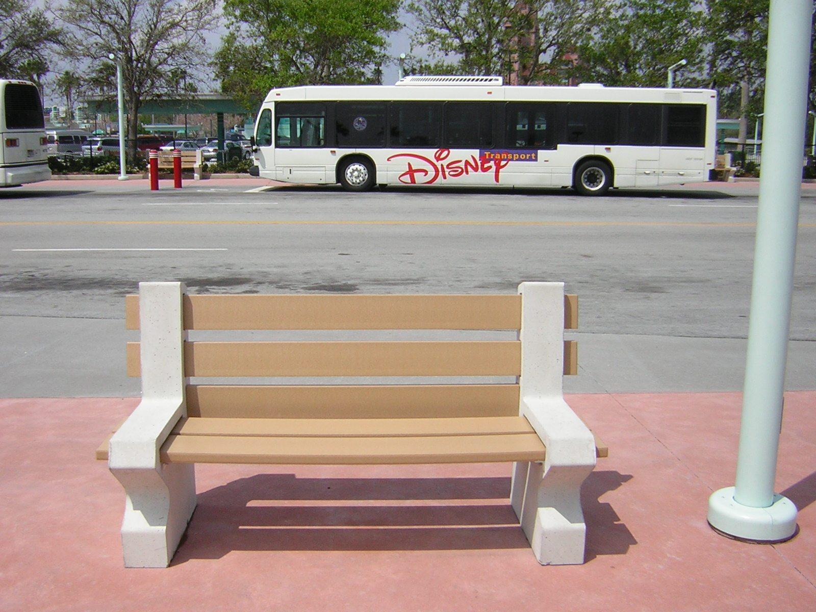 6ft Orlando Concrete Benches