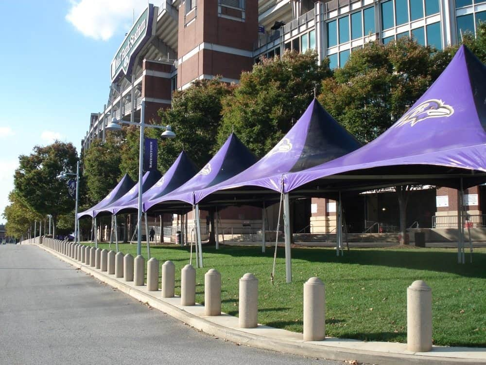Site Furnishings Ravens Stadium Showcase