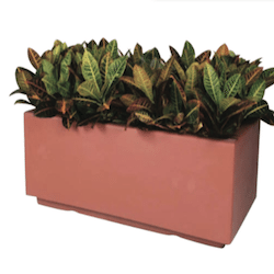 Chaz Rectangular Fiberglass Planter