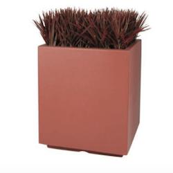Chaz Square Fiberglass Planter