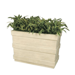 Plantation Rectangular Fiberglass Planter