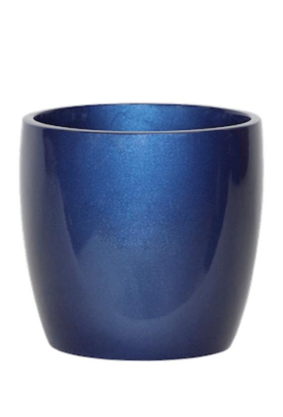 Continental Cylinder Fiberglass Planter