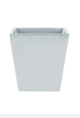 Continental Square Fiberglass Planter