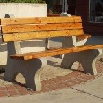 6ft Coventry Concrete Bench