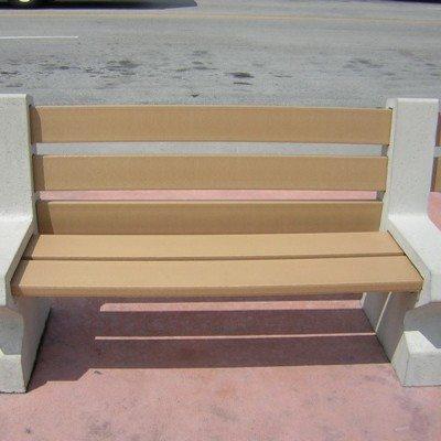 8ft Concrete Orlando Bench
