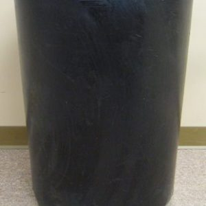 Round Plastic Liner For 35 Gallon Concrete Receptacle 1
