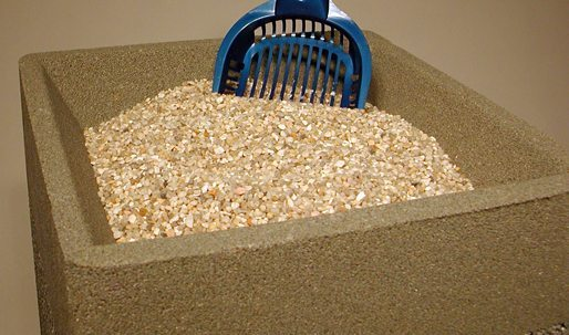 Filler Stone For Ashtrays And Combination Units