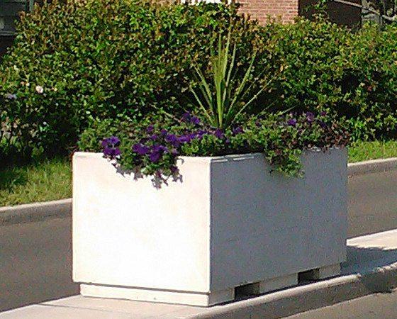 5' Rectangular Concrete Planter