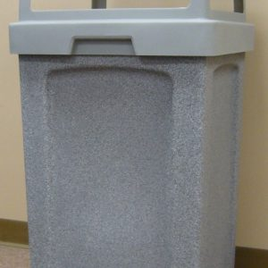 40 Gallon Square Plastic Receptacle