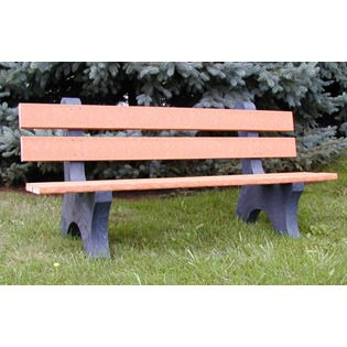 Recycled Plastic Trail Side Bench