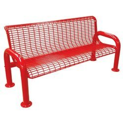 Metal U-Leg Wire Bench