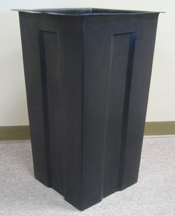 Square Plastic Liner For 35 Gallon Receptacle