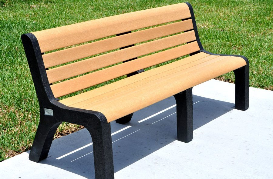 Recycled Plastic Malibu Bench