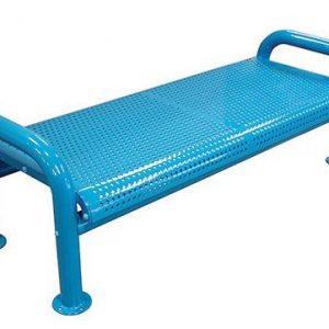U Leg Metal Bench