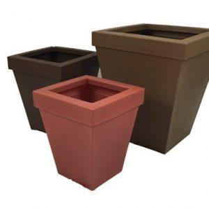 Brickell Plastic Planter