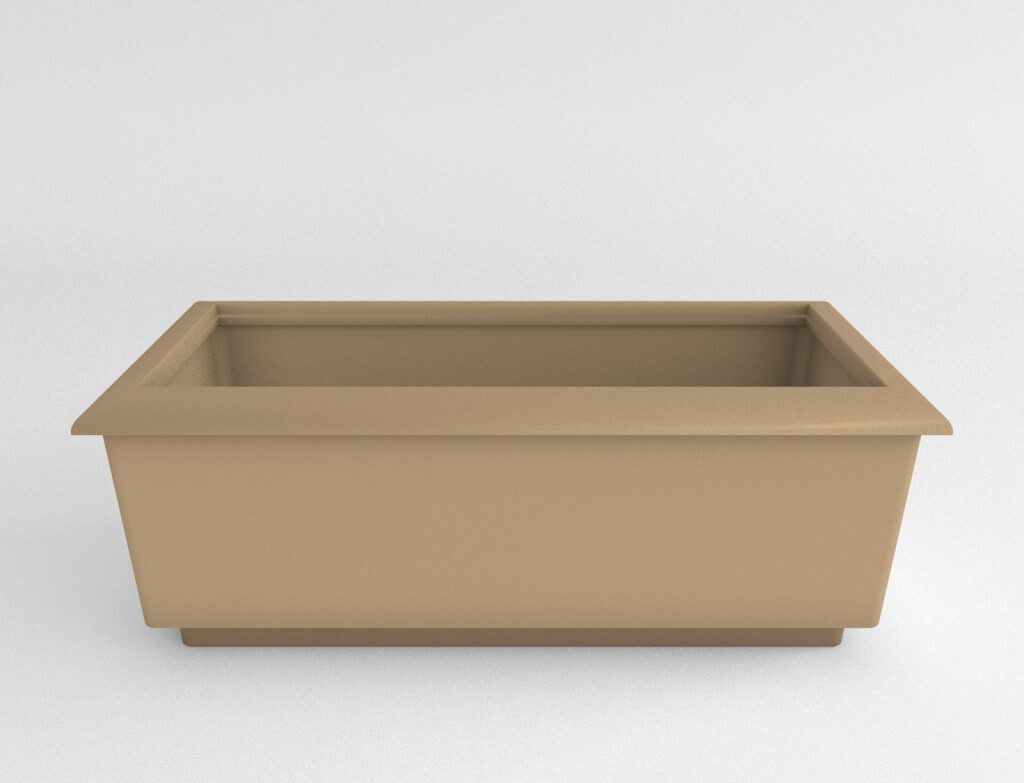 Rectangular Plastic Planter