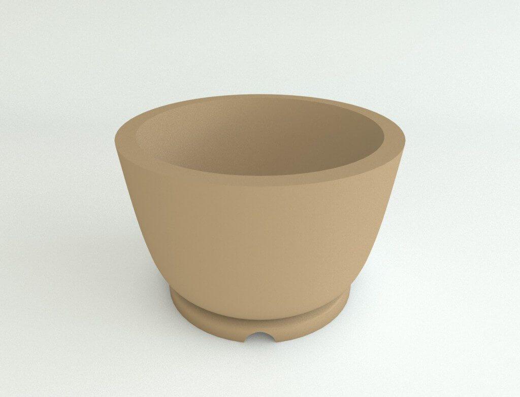 Round Plastic Planters (Pedestal)
