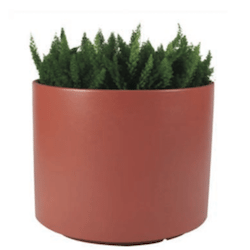 Round Fiberglass Planters, Outdoor Planters