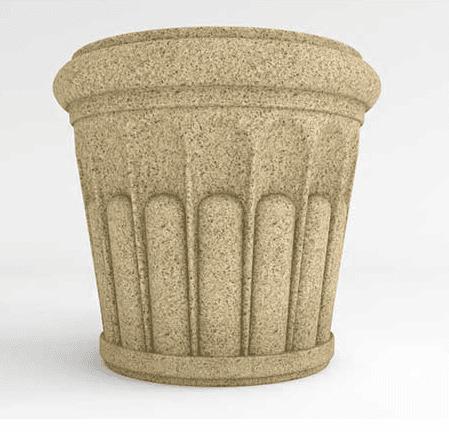 Roman Round Planter